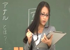 Teacher Ren Azumi gives Anal Lesson