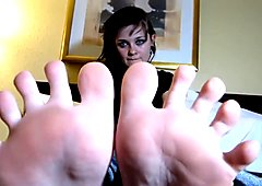 Sexy Emo Goth Teen And Her Sexy Feet Toe Sucking 720p HD POV