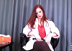 Doctor's Viagra Boner Cure: FULL VIDEO HJ by Lady Fyre femdom