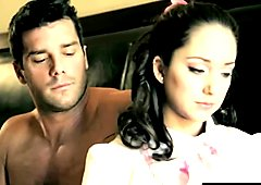 Dark Haired Step Sis Remy Gets Asshole Filled In Bed