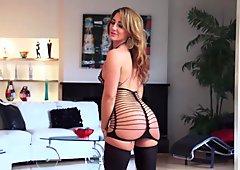 Sexy Bodystocking Strip