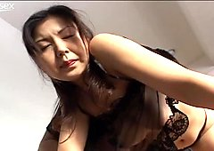 Buxom Asian MILF gets her armpits licked in provocative porn video