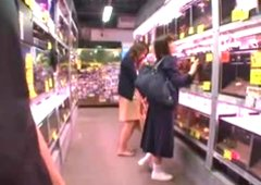 Japanese Parents shopping