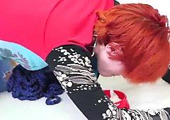 Sex ally anime episode 1 and big ass facial Cummie, the Painal Cum Cat