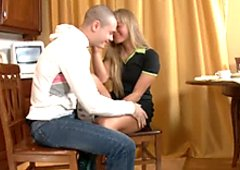 Pretty teen Lusie is ready to give blowjob to her new boyfriend
