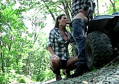 Country Girl Cock Sucking