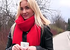 Mofos - Euro Blonde Has Cute Small Tits starring Cayla Lyons