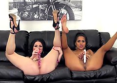Abby Lee Brazil and Veruca James Fucking LIVE