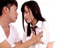 Amazing Japanese slut Risa Tachibana in Exotic upskirts, college JAV clip