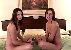 chicks get naked together real amateur teens