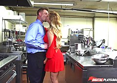 Cherie Deville stuffed by Billy Bailey