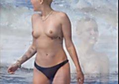 Miley Cyrus Nude Galore