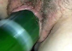 White cream cucumber