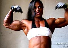 bulging muscles, amazing strength