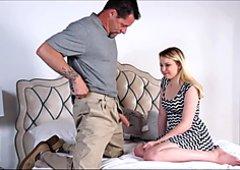 Step Dad Teaching Then Fucking Daughter