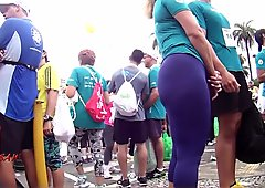 Candid Big Booty Bubble Butt Culo Curvy Pawg - 33