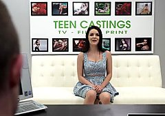 Sexy teen Kacey gets brutal sex and total submission
