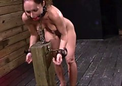 FetishNetwork Fiona Rivers anal training