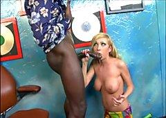 Afro 70s BBC White Teen