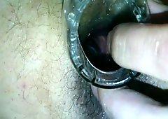 horny anus speculum closeup 720p