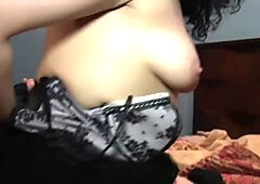 Latina MILF loved arab dick while hubby gone to work