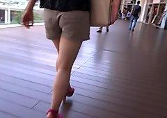 Sexy Legs Walk 012
