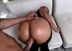 TeenCurves Blonde Babe Gets Big Ass Fucked In Stockings