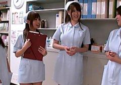 Hitomi Kitagawa, Cocomi Naruse, Momoka Nishina, Aozora Konatsu in Busty Nurse Special Nakadashi part 4